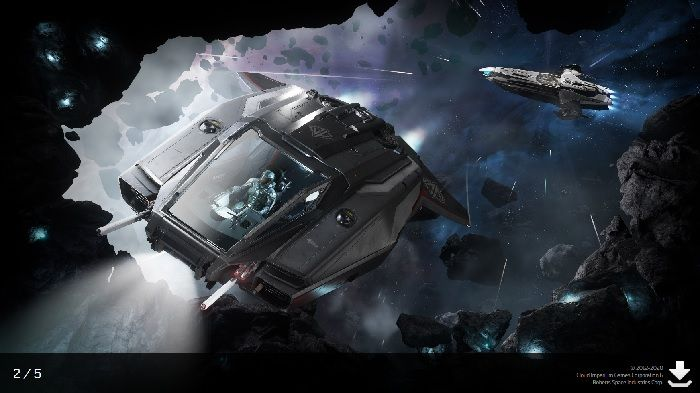 Free-Fly Event Underway in Star Citizen