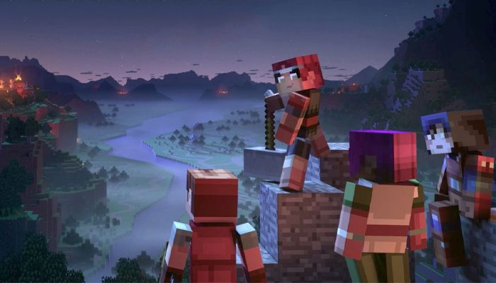 Minecraft Dungeons Launches Today