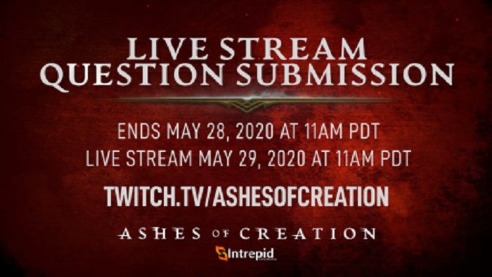 Ashes of Creation Live Stream Today Will Focus on Community Q&A