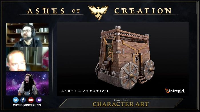 Ashes of Creation Dev Live Stream and New Pre-Alpha Gameplay Video Provide More Details