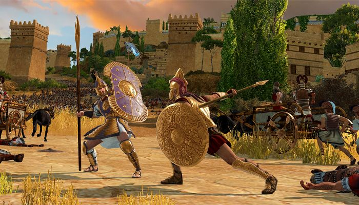 A Total War Saga: TROY Gameplay Preview