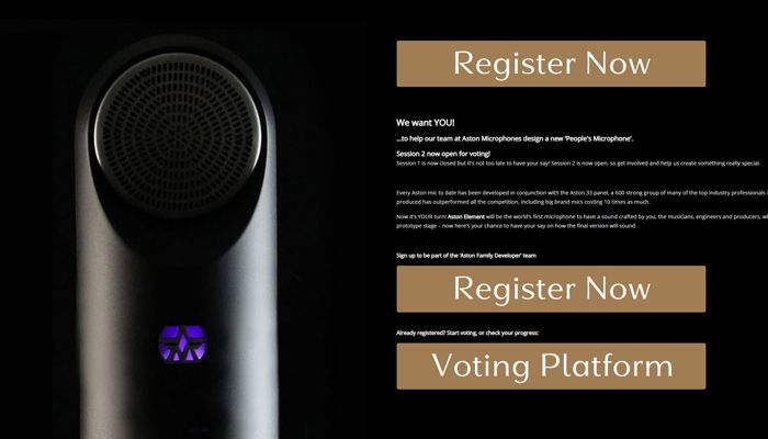 "Aston Element, the ""People's Microphone,"" Moves to Second Round of Voting"