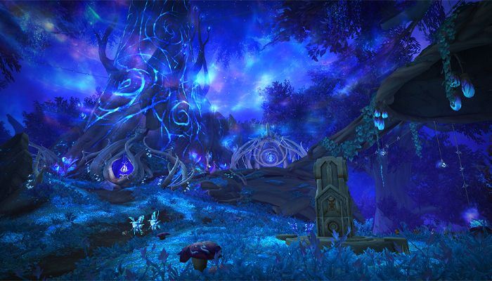 World of Warcraft Previews Ardenweald and the Night Fae Covenant
