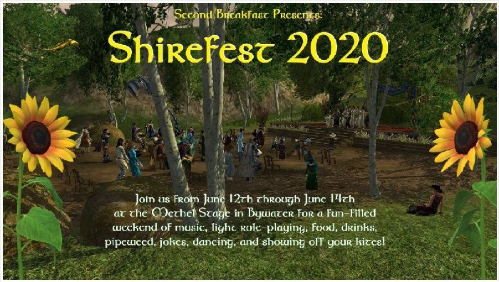 LOTRO Player-Run Shirefest 2020 Will Start Friday on Crickhollow