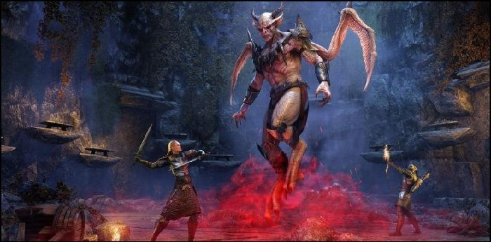 Elder Scrolls Online Hits Console Today