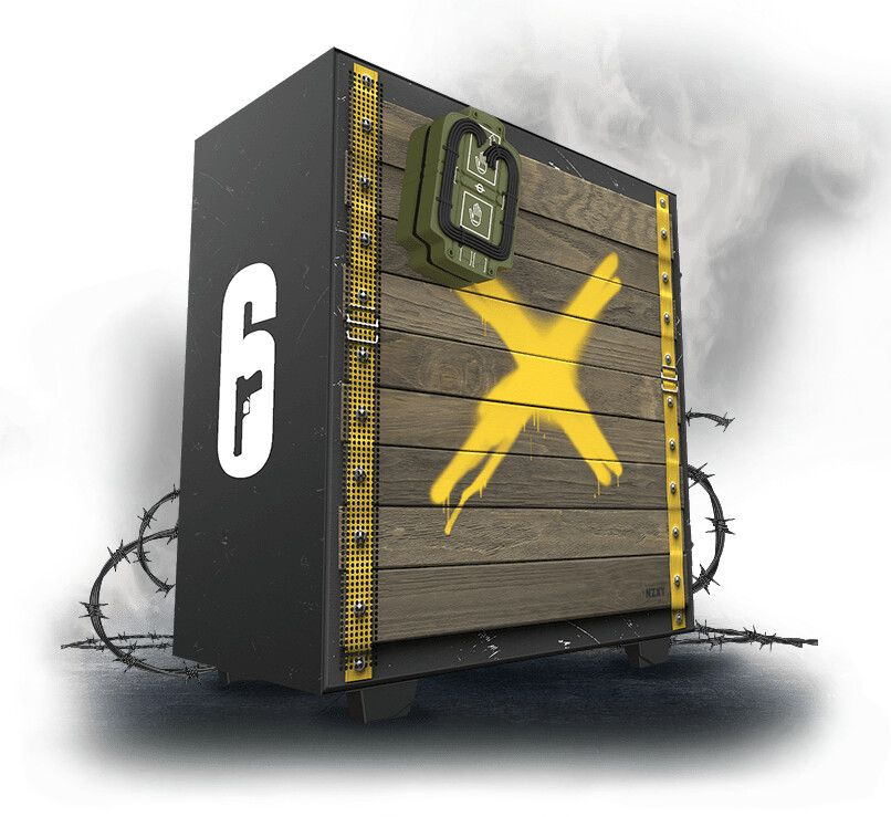 NZXT Releasing Rainbow 6 Siege Themed Tower