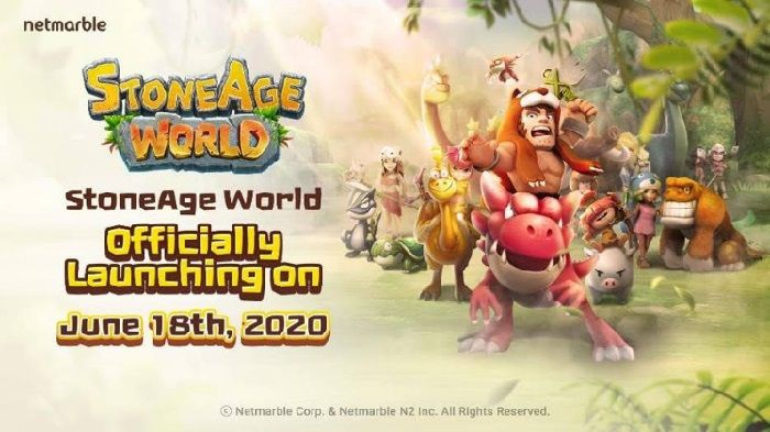 Pet Collection Mobile MMORPG 'StoneAge World' Launches Globally