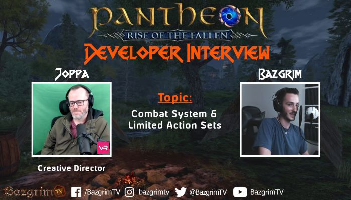 Pantheon: Rise of the Fallen Dev Talks Combat, Limited-Action Sets In New Interview