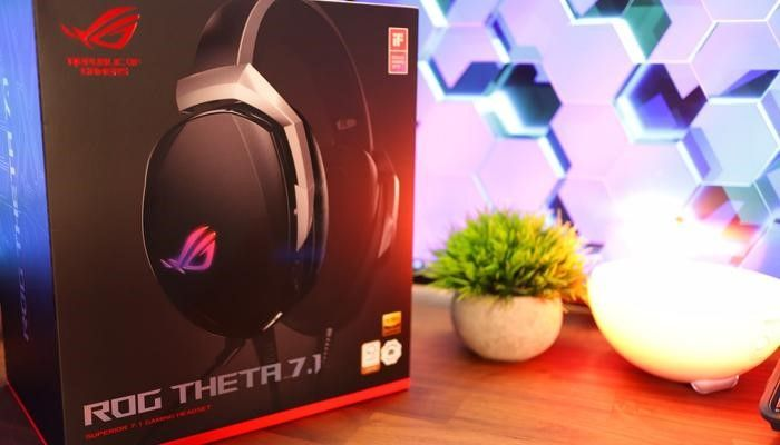 ASUS ROG Theta 7.1 Gaming Headset Review
