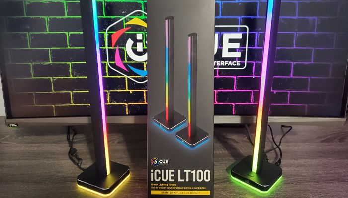 Corsair iCUE LT100 Smart Lighting Towers Review