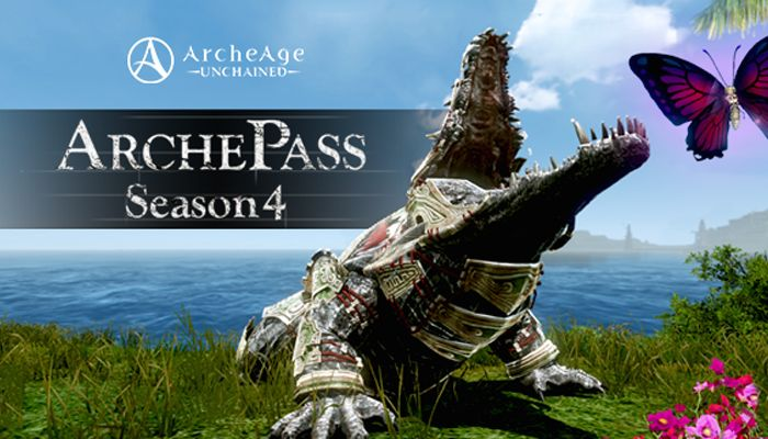 ArcheAge: Unchained Season 4 ArchePass Arrives Today