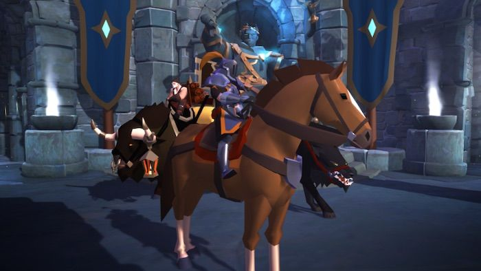 Mount Changes Coming to Albion Online in Patch 15