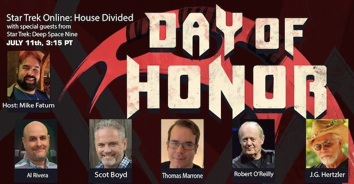 Star Trek Online All-Day 'Day of Honor' Stream Scheduled for July 11