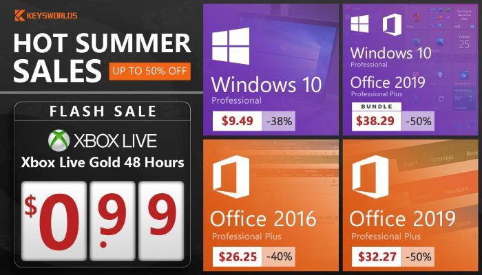 Get Windows 10, Office 2019 And Games At The Lowest Price (SPONSORED)