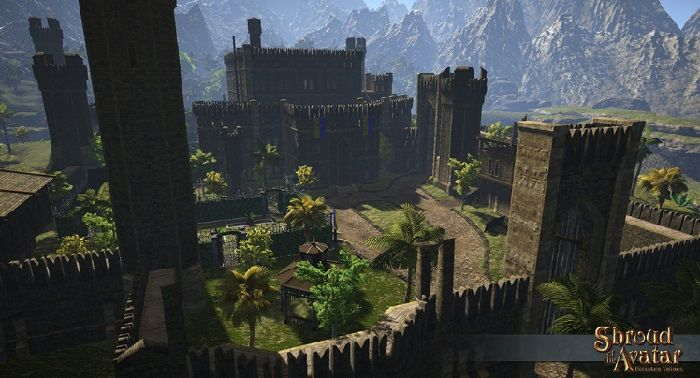 Lord British's Castle Previewed in Shroud of the Avatar Update