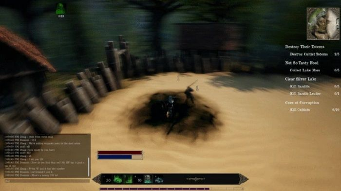 Medieval MMO, Past Fate, Issues Kickstarter Update