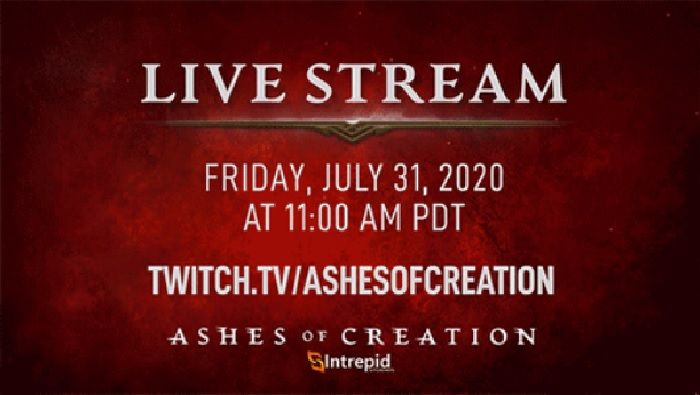 New Ashes of Creation Development Update Live Stream Today at 2p EDT