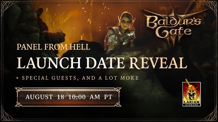 Baldur's Gate 3 - Larian Announces Launch Date Reveal Stream August 18th