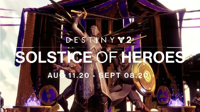 Destiny 2's Solstice of Heroes Arrives August 11