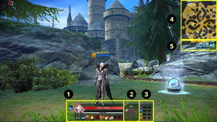 Jugabilidad de TERA Battle Arena de un vistazo