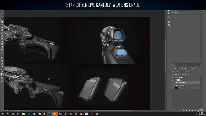 Así se fabrican las armas FPS de Star Citizen