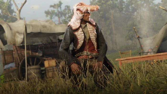 The Legendary Banded Gator Has Been Sighted in Red Dead Online