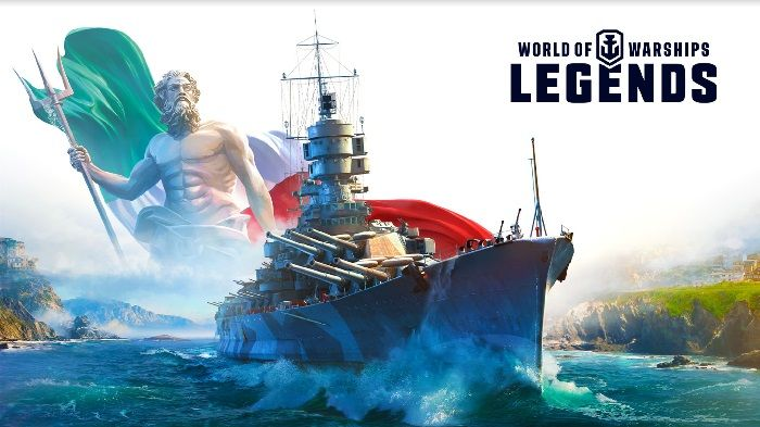 World of Warships: Legends agrega la Marina italiana