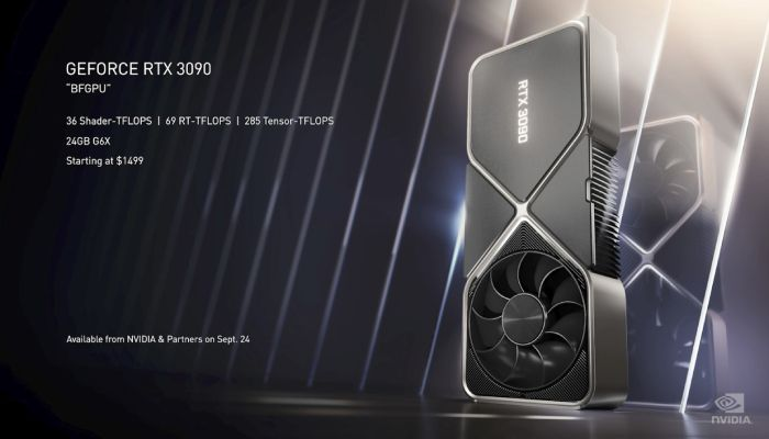 Nvidia Announces RTX 3070, 3080, and 3090 Graphics Cards