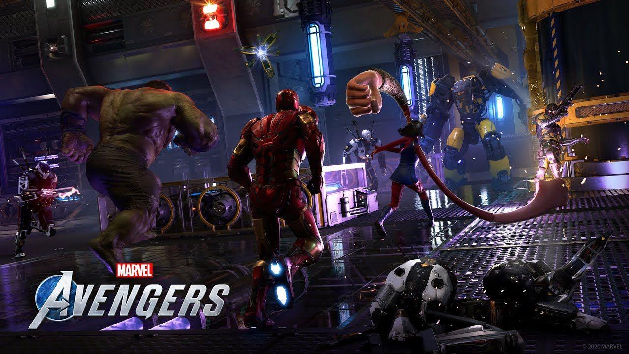 Marvel's Avengers Launch canaliza esa energía de himno