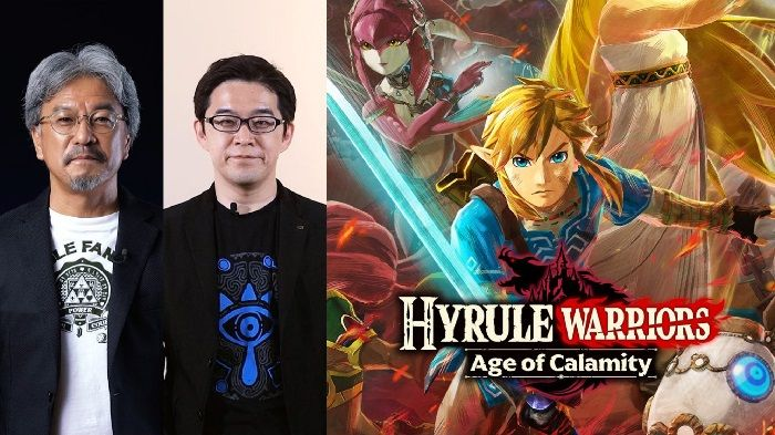Zelda Hyrule Warriors Age of Calamity Announced