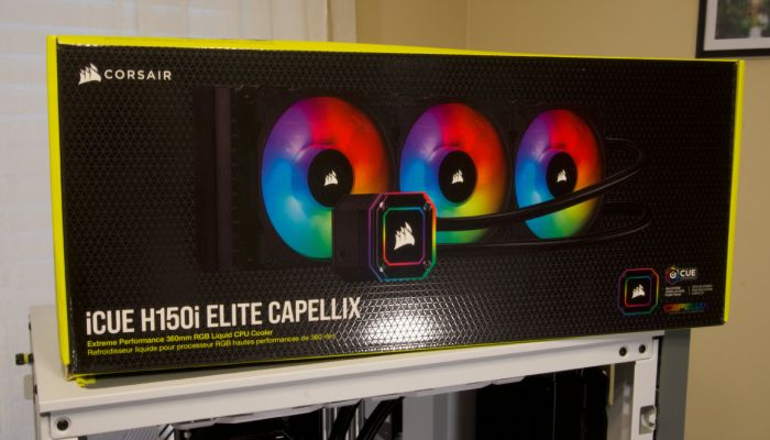 Corsair H150i ELITE CAPELLIX AIO CPU Cooler Review