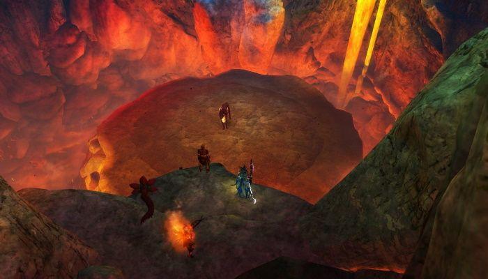 Guild Wars 2 - Vista previa del fractal de Sunqua Peak