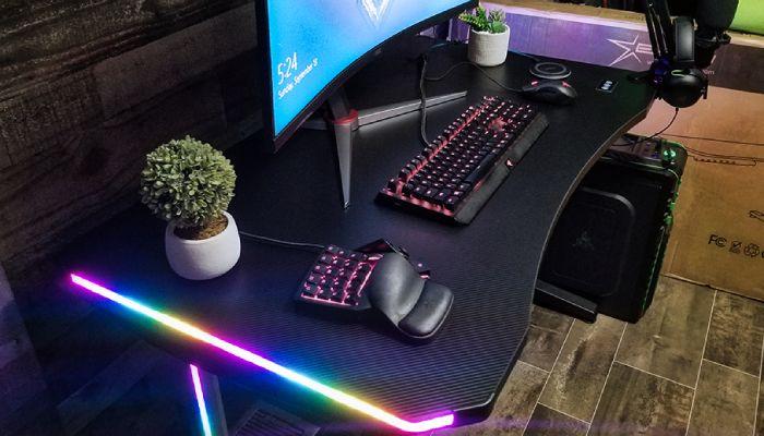 la revisión de escritorio de juegos RGB E-WIN 2.0 Edition