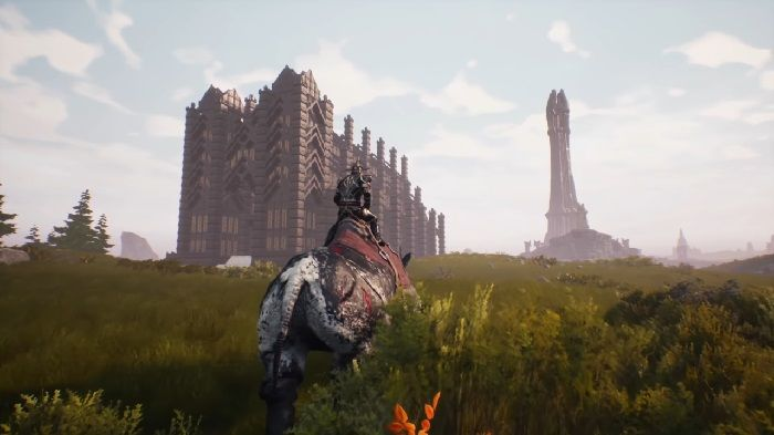 Here's a Speed Build of Conan Exiles' Stormglass Cathedral