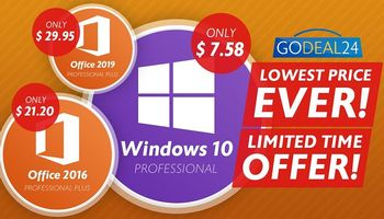 Get Windows For Less Than $10 During GoDeal24.com Autumn Flash Sale (SPONSORED)