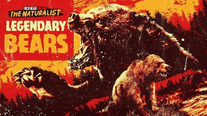 Osos salvajes y legendarios deambulan por Red Dead Online