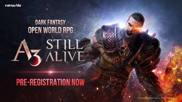 Dark Fantasy Open World RPG 'A3: STILL ALIVE' Announced by Netmarble