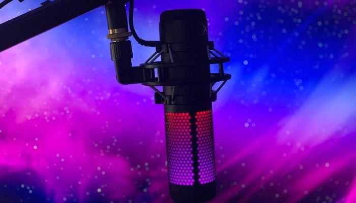 Calificación del micrófono HyperX QuadCast S
