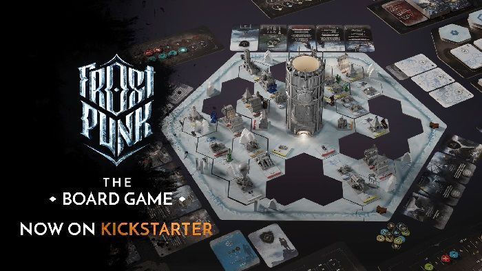 Frostpunk Is Getting a Board Game, On Kickstarter Now