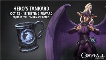 Join Crowfall's Battle Test, Get Rewarded