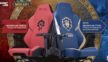 Show Your Faction Pride With Secretlab's WoW Gaming Chair