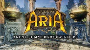 The Top Fighters from Legends of Aria's Arena Summer 2020 Have Been Crowned