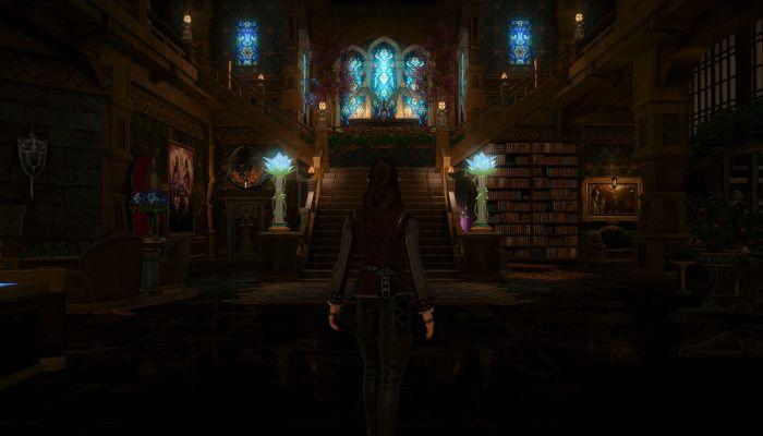 Exhibición de viviendas de Final Fantasy XIV - Haunted Asylum