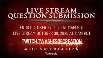 Ashes of Creation Announces Next Live Stream