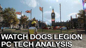 Watch Dogs Legion PC Tech Analysis