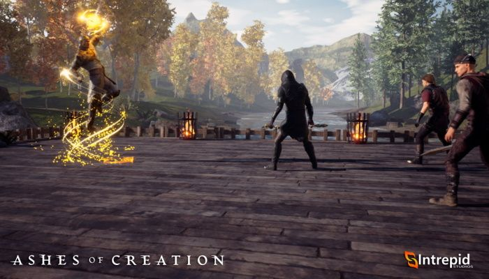 Blog invitado de Ashes of Creation - The Gift of Life - Vista previa de Cleric Alpha One