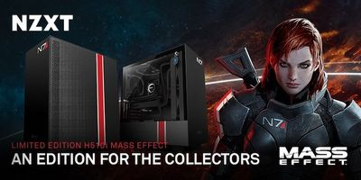NZXT Announces Mass Effect Themed H510i PC Case