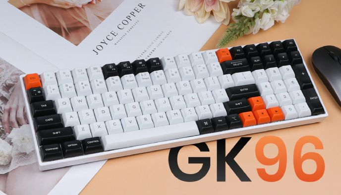 Revisión del teclado mecánico Bluetooth Epomaker GK96S
