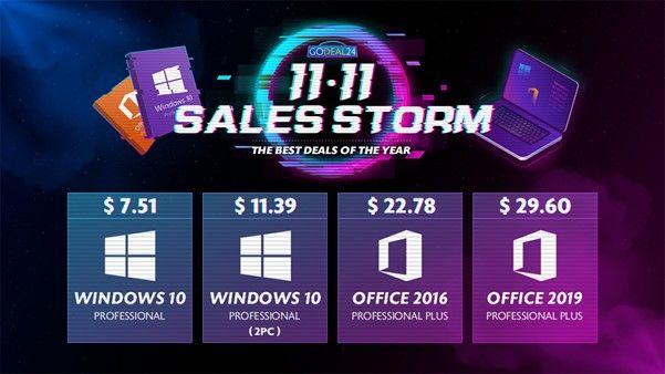 Obtenga las mejores ofertas de GoDeal24's 11/11 Sales Storm (PATROCINADO)