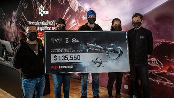 EVE Online Players Donated Over $130,000 to COVID-19 Relief Through PLEX for Good Initiative